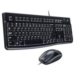 TECLADO Y RATON LOGITECH MK120 USB