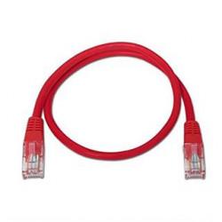 CABLE RED LATIGUILLO RJ45 CAT.5E UTP AWG24,1M VERDE NANOCABLE