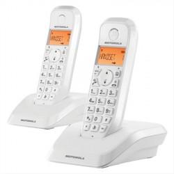 TELÉFONOS INALÁMBRICOS MOTOROLA SERIE S12 DUO BLANCO·DESPRECINTADO