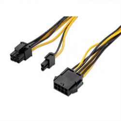 CABLE TARJETA GRAFICA, PCI-E (MOLEX 8 PINES)/H - PCI-E(MOLEX 6+2 PINM) NANOCABLE