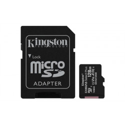 MEMORIA MICRO SD 128GB XC1 C10 A1 KINGSTON