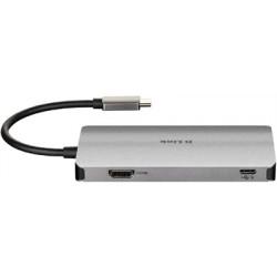 HUB DLINK USB-C 6EN1 CON HDMI / 2xUSB3.0 / USB-C ALIMENTADO/ LECTOR DE TARJETAS