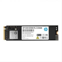 SSD M.2 2280 HP 250GB EX900 PCIe NVMe Gen3 x4 R2100/W1300 MB/s