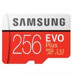 MEMORIA MICRO SD 256GB SAMSUNG EVO PLUS