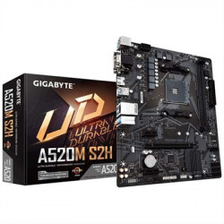 PLACA AM4 GIGABYTE A520M-S2H DDR4