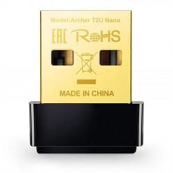 ADAPTADOR TP-LINK USB WIRELESS ARCHER T2U NANO AC600