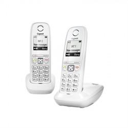 TELEFONO INALAMBRICO GIGASET AS405 DUO BLANCO