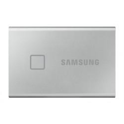 "HD EXTERNO SSD 2.5"" 1TB SAMSUNG T7 TOUCH SILVER USB3.2 Gen.2 (Lect. Huella)"
