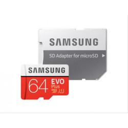 MEMORIA MICRO SD 64GB SAMSUNG EVO PLUS