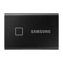 "SSD EXTERNO 2.5"" 500GB SAMSUNG T7 TOUCH BLACK USB3.2 Gen.2 (Lect. Huella)"