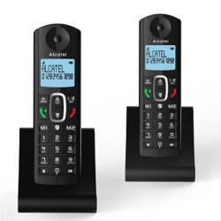 TELEFONO INALAMBRICO ALCATEL F685 DUO NEGRO