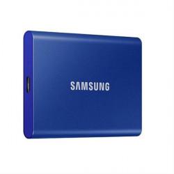 """HD EXTERNO SSD 2.5"""" 500GB SAMSUNG T7 BLUE USB3.2 Gen.2"""