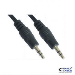 CABLE AUDIO ESTEREO 3.5/M-3.5/M 10M NANOCABLE