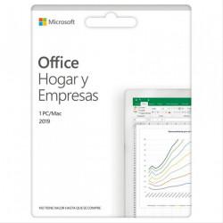OFFICE HOGAR Y EMPRESAS 2019 ESD (Licencia electrónica)