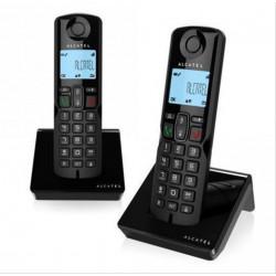 TELEFONO INALAMBRICO ALCATEL S250 DUO NEGRO M. S·DESPRECINTADO
