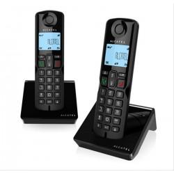 TELEFONO INALAMBRICO ALCATEL S250 DUO NEGRO·DESPRECINTADO
