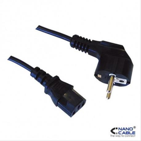 CABLE ALIMENTACION CPU CEE7/M-C13/H 10M NANOCABLE