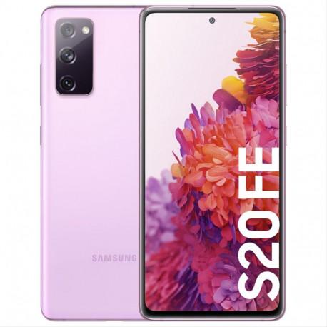 """SMARTPHONE SAMSUNG G780 GALAXY S20 FE 4G 6GB 128GB 6.5"""" LAVANDA·"""