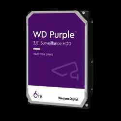 """HD 3.5"""" WESTERN DIGITAL 6TB SATA 3 128MB PURPLE"""
