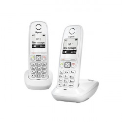 TELEFONO INALAMBRICO GIGASET AS405 DUO BLANCO#DESPRECINTADOS