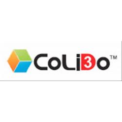 COLIDO 3D-GOLD FILAMENTO TRANSLÚCIDO-X PLA 1 BLUE·