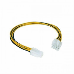 CABLE ALIMENTACION 4PIN/H-4+4PIN/M 0.15M NANOCABLE
