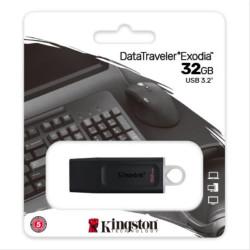 PEN DRIVE 32GB KINGSTON DTX EXODIA USB3.2