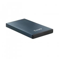 "CAJA EXTERNA 2.5"" SATA TOOQ AZUL USB 3.0/3.1"