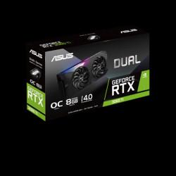 VGA ASUS GEFORCE RTX 3060TI DUAL MINI 8GB GDDR6 OC LHR