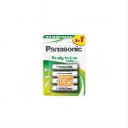 PILA PANASONIC AA ALKALINE 1.2V 4 UNIDADES RECARGABLE1900mAh