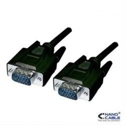 CABLE SVGA HDB15/M-HDB15/M, 5M NANOCABLE
