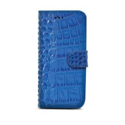 FUNDA IPHONE 6 PLUS CELLY COCODRILO AZUL